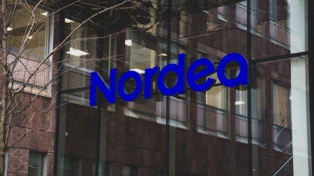 Stockholm Headquarter Nordea sign