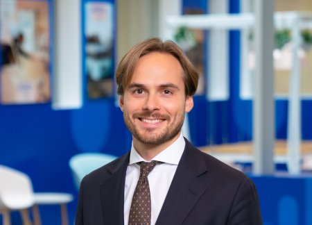 Image of Axel Malgerud, Investor Relations Officer